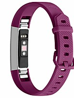 cheap -Watch Band for Fitbit Alta HR Fitbit Classic Buckle Silicone Wrist Strap