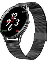 Недорогие -bozhuo sn58 умные часы bt фитнес-трекер поддержка уведомлять / монитор сердечного ритма спорт из нержавеющей стали Bluetooth совместимые SmartWatch IOS / Android телефоны