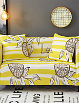 cheap -Lemon Slice  Print Dustproof All-powerful Slipcovers Stretch Sofa Cover Super Soft Fabric Couch Cover with One Free Pillow Case