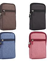 Недорогие -6,3-дюймовый чехол для универсальной карты держателя талии сумка / поясная твердая оксфордская ткань