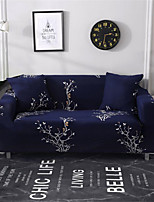 cheap -Branch Print Dustproof All-powerful Slipcovers Stretch Sofa Cover Super Soft Fabric Couch Cover with One Free Pillow Case
