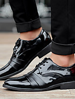 cheap -Men's Summer / Fall Business / Vintage Party & Evening Office & Career Oxfords Nappa Leather Breathable Wear Proof Black