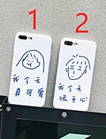 Недорогие -чехол для яблока iphone xr / iphone xs max шаблон задняя крышка мультфильм мягкое тпу для iphone x xs 8 8plus 7 7plus 6 6plus 6s 6s plus