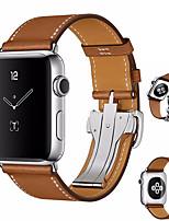 Недорогие -Ремешок для часов для Apple Watch Series 4 Apple Бабочка Пряжка Натуральная кожа Повязка на запястье