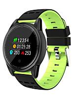 Недорогие -R13S умный браслет 0,95 HD цветной экран с сердечного ритма артериального давления кислорода фитнес-трекер для Android&усилитель; умные часы ios