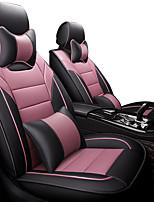 Недорогие -все объемные мультипликационные подушки здоровья автокресло все включено пять мест моторы чехол для сиденья черный / розовый / черный / коричневый / бежевый 4 сезона