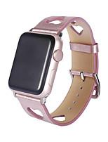 Недорогие -Ремешок для часов для Apple Watch Series 4/3/2/1 Apple Спортивный ремешок Натуральная кожа Повязка на запястье