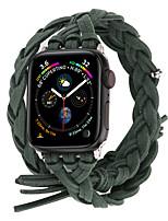 Недорогие -Ремешок для часов для Серия Apple Watch 5/4/3/2/1 Apple Современная застежка Натуральная кожа Повязка на запястье