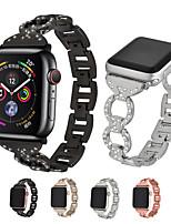 Недорогие -Ремешок для часов для Apple Watch Series 4 Apple Современная застежка Металл / Нержавеющая сталь Повязка на запястье