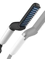 cheap -Multifunctional Hair Comb Brush Beard Hair Straighten Comb Quick Hair Styler For Men