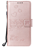 cheap -Case For Sony Xperia XA XA1 XZ Z5 XZ1 XA2 L1 Card Holder Flip Pattern Full Body Cases owl animal heart PU Leather TPU