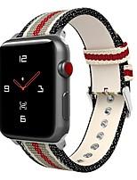 Недорогие -Ремешок для часов для Серия Apple Watch 5/4/3/2/1 Apple Спортивный ремешок Нейлон Повязка на запястье