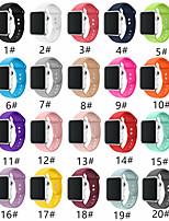 Недорогие -SmartWatch Band для Apple Watch серии 4/3/2/1 мода мягкий силиконовый спортивный ремешок iwatch ремешок