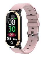 Недорогие -imosi T1 Мужчина женщина Умный браслет Bluetooth Водонепроницаемый Сенсорный экран Пульсомер Измерение кровяного давления Спорт