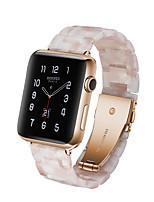 Недорогие -Ремешок для часов для Apple Watch Series 4/3/2/1 Apple Спортивный ремешок Керамика Повязка на запястье