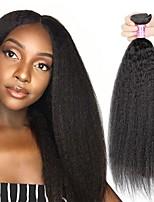Недорогие -6 Связок Перуанские волосы Естественные прямые Необработанные натуральные волосы Человека ткет Волосы Пучок волос One Pack Solution 8-28 дюймовый Естественный цвет Ткет человеческих волос