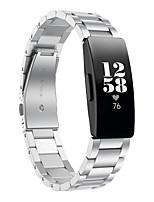 Недорогие -Ремешок для часов для Fitbit Inspire HR Fitbit Классическая застежка TPE Повязка на запястье