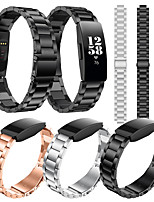 cheap -Watch Band for Fitbit Inspire HR Fitbit Business Band Stainless Steel Wrist Strap