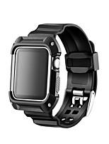 Недорогие -Ремешок для часов для Apple Watch Series 4/3/2/1 Apple Современная застежка силиконовый Повязка на запястье