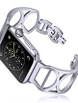 Недорогие -Ремешок для часов для Apple Watch Series 4/3/2/1 Apple Современная застежка Металл Повязка на запястье