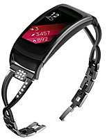 cheap -Watch Band for Gear Fit 2 Samsung Galaxy Jewelry Design Stainless Steel Wrist Strap