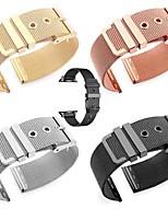 Недорогие -Ремешок для часов для Серия Apple Watch 5/4/3/2/1 Apple Миланский ремешок Нержавеющая сталь Повязка на запястье