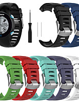 cheap -Watch Band for Garmin Forerunner 610 Garmin Classic Buckle Silicone Wrist Strap