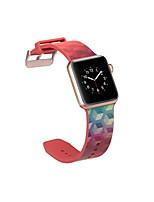 Недорогие -SmartWatch Band для Apple Watch серии 4/3/2/1 силиконовые классические пряжки ремешок iwatch