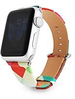 Недорогие -Ремешок для часов для Серия Apple Watch 5/4/3/2/1 Apple Спортивный ремешок Натуральная кожа Повязка на запястье