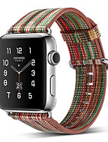 Недорогие -Ремешок для часов для Серия Apple Watch 5/4/3/2/1 Apple Классическая застежка Натуральная кожа Повязка на запястье
