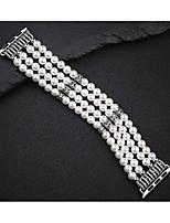 Недорогие -Ремешок для часов для Серия Apple Watch 5/4/3/2/1 Apple Дизайн украшения Керамика Повязка на запястье