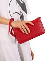 Недорогие -6,3-дюймовый чехол для универсального кошелька / держателя карты сумка сплошного цвета мягкой искусственной кожи