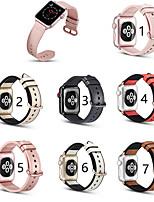 Недорогие -ремешок SmartWatch из натуральной кожи для серии Apple Watch 4/3/2/1 Apple Classic пряжка ремешок iwatch