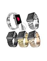 Недорогие -Ремешок для часов для Серия Apple Watch 5/4/3/2/1 Apple Современная застежка Нержавеющая сталь Повязка на запястье