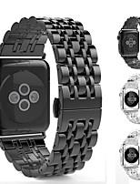 Недорогие -Ремешок для часов для Apple Watch Series 4/3/2/1 Apple Современная застежка Нержавеющая сталь Повязка на запястье
