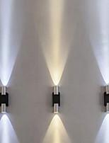 Недорогие -Очаровательный / Новый дизайн LED / Современный современный Настенные светильники Гостиная / кафе Алюминий настенный светильник IP44 общий 2 W