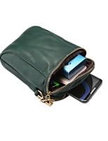 Недорогие -6,4-дюймовый чехол для универсальной карты держателя сумка сплошной цвет мягкая искусственная кожа