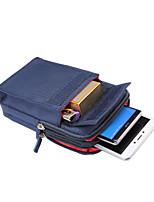 Недорогие -6,4-дюймовый чехол для универсального держателя карты талии сумка / талия сплошной цвет мягкий полиэстер