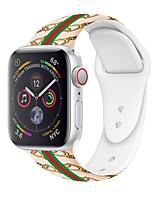 Недорогие -SmartWatch Band для Apple Watch серии 4/3/2/1 силиконовый спортивный ремешок iwatch ремешок