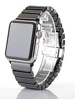 Недорогие -Ремешок для часов для Apple Watch Series 4 Apple Бабочка Пряжка Керамика Повязка на запястье