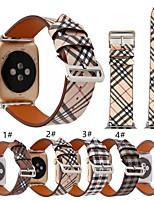 Недорогие -SmartWatch группа для Apple Watch серии 4/3/2/1 мода ремешок из натуральной кожи ремешок iwatch