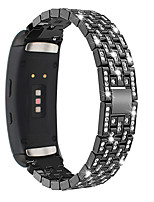 cheap -Luxury Full Diamond Metal Bracelet Strap for Gear Fit 2 Samsung Galaxy  Watch Band
