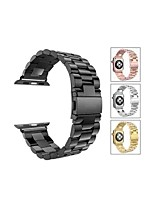Недорогие -Ремешок для часов для Серия Apple Watch 5/4/3/2/1 Apple Спортивный ремешок Нержавеющая сталь Повязка на запястье