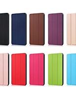 Недорогие -Кейс для Назначение Huawei Huawei Mediapad M5 Lite 10 / MediaPad M5 10 (Pro) / MediaPad M5 10 Защита от удара / со стендом / Ультратонкий Чехол Однотонный Твердый Кожа PU