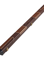 cheap -Favor Boxes LITBest Snooker Plush Fabric Two-piece Cue 122/128 Portable Fleece Lining Brown