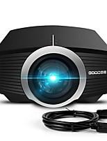 Недорогие -Мини-проектор обновлен в 2018 году 80% люмен видео-проектор совместим с Fire TV-бар HDMI VGA USB домашний кинотеатр кинопроектор