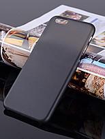 Недорогие -Кейс для Назначение Apple iPhone 7 / iPhone 7 Plus Ультратонкий / Матовое / Прозрачный Кейс на заднюю панель Однотонный Твердый пластик для iPhone 7 Plus / iPhone 7