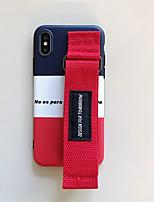 Недорогие -чехол для apple iphone xs max / iphone 8 plus противоударный / пыленепроницаемый задняя крышка с геометрическим рисунком мягкое тпу для iphone 7/7 plus / 8/6/6 plus / xr / x / xs