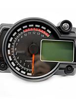 Недорогие -мотоцикл цифровой спидометр жк-датчик спидометр тахометр одометр инструмент