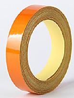 Недорогие -Оранжевый / Желтый / Синий Автомобильные наклейки Общий Автомобильные стикеры Предупреждающие знаки Светоотражающие наклейки